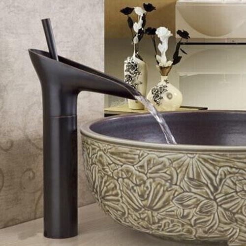 Lightinthebox® B&R Luxury Antique Oil-rubbed Bronze Bathroom Vessel ...