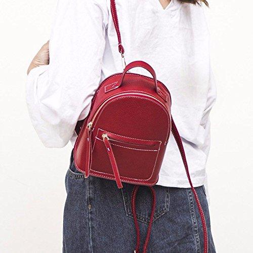Femme à Sac pour porté Rouge Main Red Red au BMKWSG Dos 0gq55fx