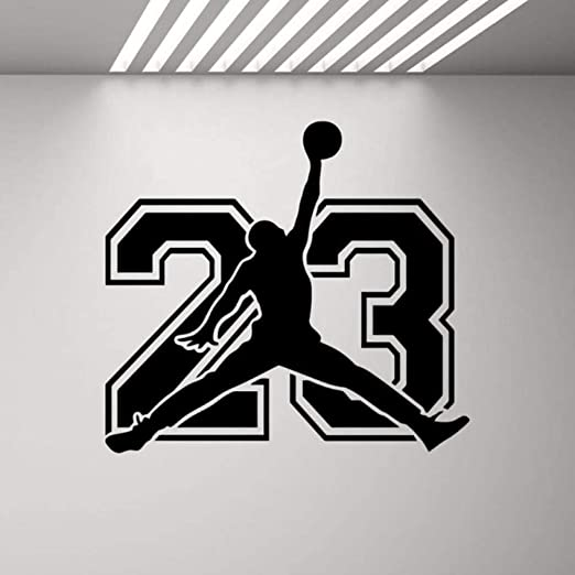 Baloncesto Wall Decal Sign Baloncesto Cartel Sport Gaming ...