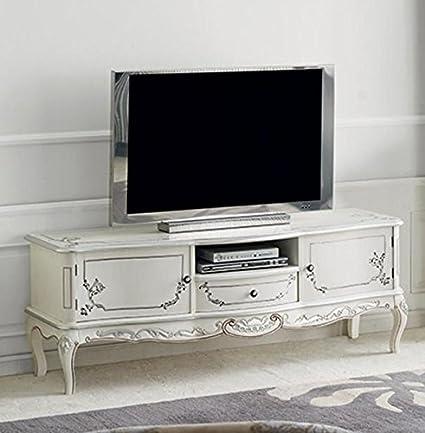 Dafnedesign.Com - Base Porta TV, 2 Ante, 1 vano e 1 cassetto, Colore ...