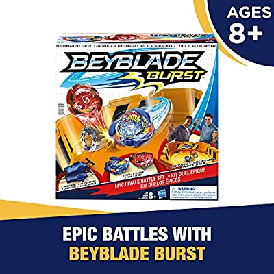 Beyblade Burst Epic Rivals Battle Set Game ( Exclusive): Toys & Games