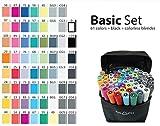 Graphmaster Grafikmarker 63er Basic Set Box Grafik Design Marker Pens