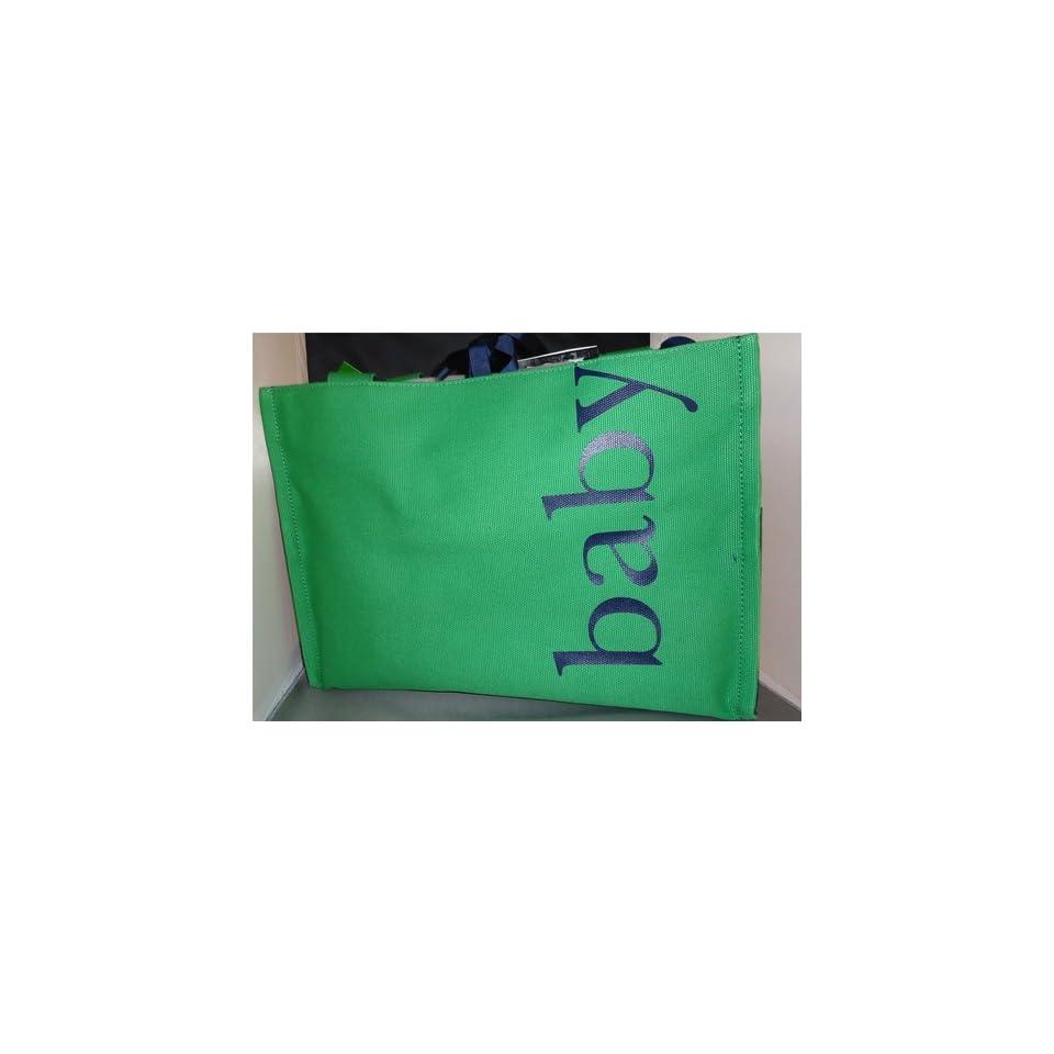 Kate Spade Medium Coal Green Baby Diaper Bag WKRU0488