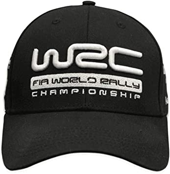 WRC World Rally Championship - Gorra de béisbol, Color Negro ...