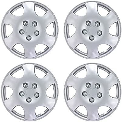 "S10 15/"" Chrome Full Wheel Skins Cover Replacement Hub Caps"