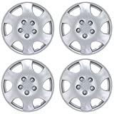 hyundai accent wheel center cap - BDK Toyota Corolla Style Hubcaps Wheel Cover, 15