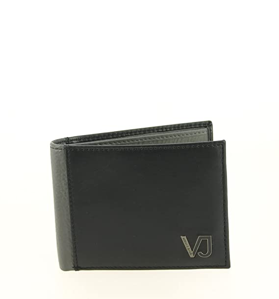 molto carino 9f734 7b702 Versace Portafoglio Jeans Italiano loghi: Amazon.it ...