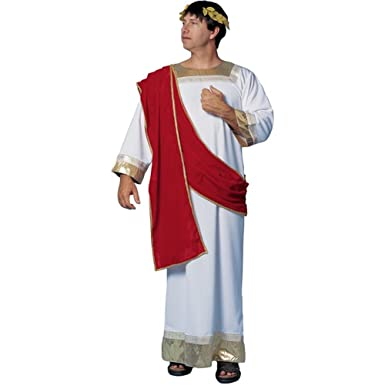 Amazon.com: Disfraz de romano César de adultos (Tamaño ...