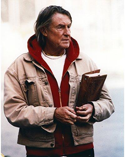 Premium Photographic Print Director (Joel Schumacher In Brown Leather Jacket Portrait - 8