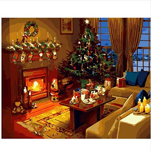 CZYYOU Bild Landschaft DIY Malen Nach Zahlen Wohnkultur Für Wohnzimmer Hand Einzigartige Geschenke 40x50cm-Gerahmt B07PCPXP7T | Hervorragende Eigenschaften