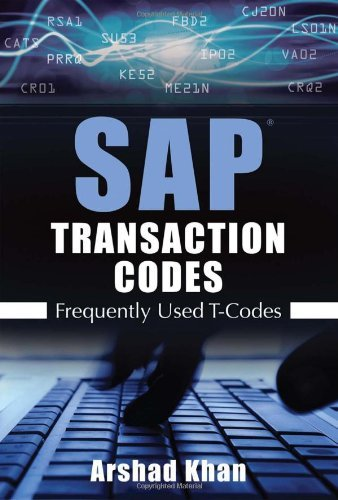 SAP Transaction Codes: Frequently Used T-Codes Pdf