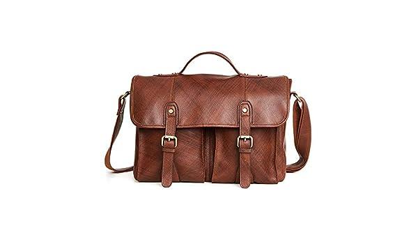 18d7bbb324b6 Amazon.com: KCXUT Women's Handbags Men's Messenger Bag Handbags Soft ...