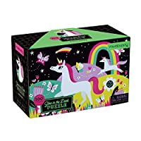 Mudpuppy Unicorns Glow-in-The-Dark Puzzle