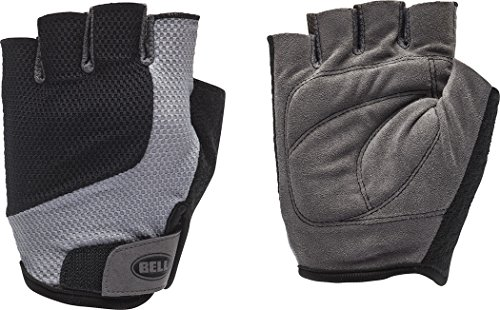 - Bell Breeze 300 Half-Finger Mesh Cycling Glove l/XL - Black/Grey