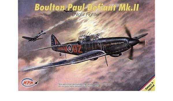 MPM 1//72 Boulton Paul Defiant Mk.II Night Fighter # 72519