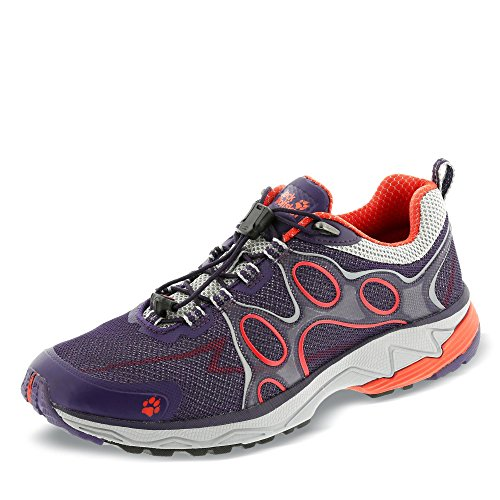 Low 2016 Laufschuhe Wolfskin lila Trailrunning Jack Passion orange Trail azalea red Shoes Women tAwZqzZpS