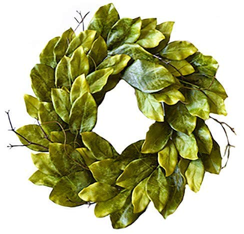 (Mills Floral Southern Magnolia Wreath 24