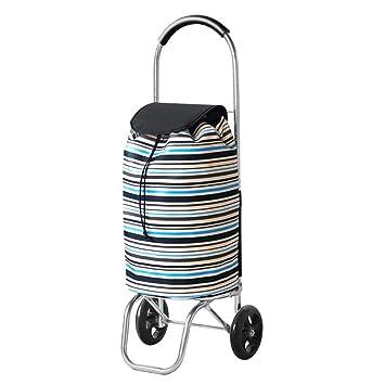 ChenDZ Carro de la Compra Carro pequeño Puede Subir escaleras Plegables carros portátiles Ancianos Remolque Carro doméstico (Color : D): Amazon.es: Hogar