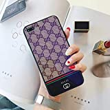 iPhone 6S Plus Case, iPhone 6 Plus Case, Tempered Glass Back Fashion Style