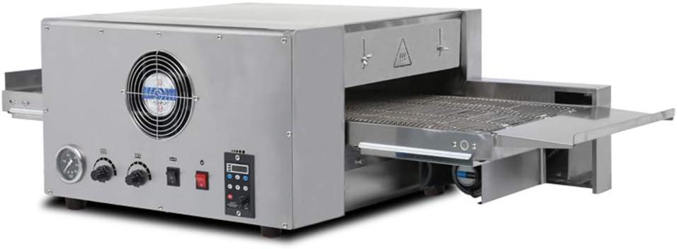 IDABAY Horno para Pizza Eléctrico, 6400W de Acero Inoxidable Combina la plancha + freidora