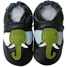 Carozoo Animal Flower Fruit Sports Unisex Baby Soft Sole Leather Shoes