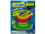 Bulk Buys OC259-96 Wind Up Toy Train With Track Set