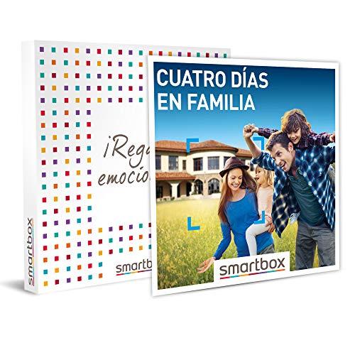 SMARTBOX – Caja Regalo hombre mujer pareja idea de regalo – Cuatro días en familia – 337 estancias en hoteles, casas…