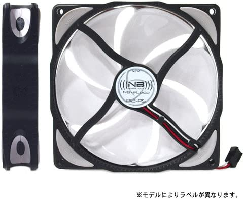 Noiseblocker NB-eLoop B12-PS 120mmx25mm Ultra Silent Bionic Blade Fan – 400 – 1500 RPM