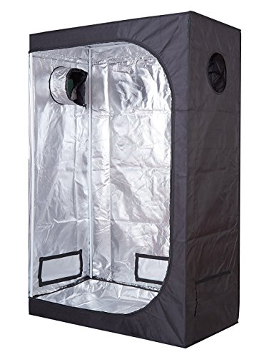 Cheap TopoLite 48″x24″x72″ Grow Tent for Hydroponic Indoor Growing System Dark Room Grow Boxes