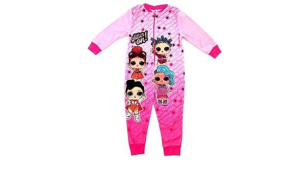 Licencia LOL Surprise Girls Onesie, todo en uno, pijama polar ...