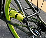 ABUS U-mini 40/130 HB (Color: yellow) D Lock bike combination