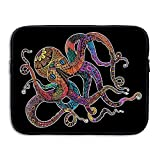 Octopus Digital Laptop Bag, 15 Inch Notebook Briefcase Laptop Sleeve Bag Cover For 15 Inch Inch Ultrabook / Lenovo Dell / MacBook Pro / Macbook Air , Travelling, Business, College