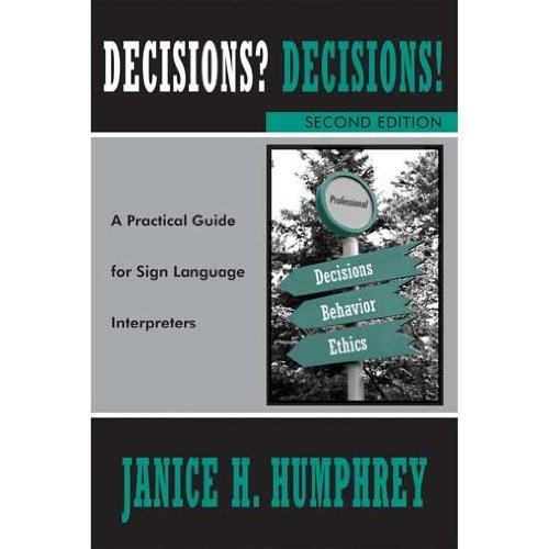 DECISIONS? DECISIONS!...SIGN L