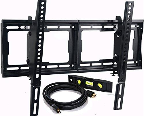 VideoSecu Tilting LCD LED Plasma TV Wall Mount Bracket for LG 55UF6700 60LF6300 65LF6300 65UF9500 65UF8500 60UF7700 65UF7700 70UF7700 42LV5500 42LV3700 42LV3500 1080p LED-LCD HDTV ()