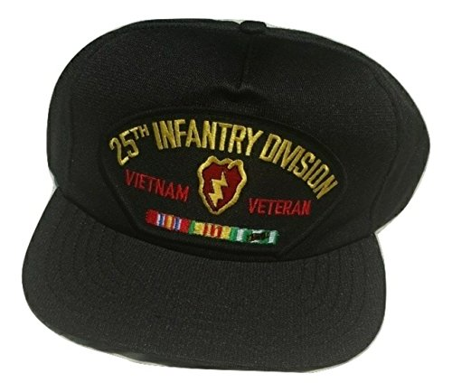 HMC US Army 25th Infantry Division Vietnam Veteran Adjustable Ball Cap