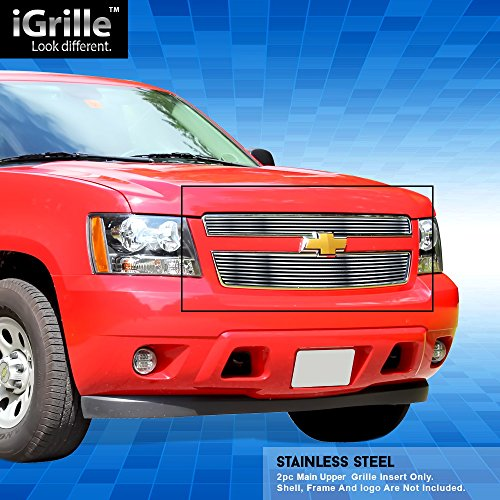 Off Roader Stainless Steel eGrille Billet Grille Grill for 2007-2014 Chevy Tahoe/Suburban/Avalanche ()