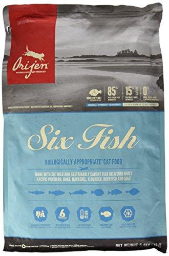 Orijen 6 Fish Comida para Gatos – 5400 gr
