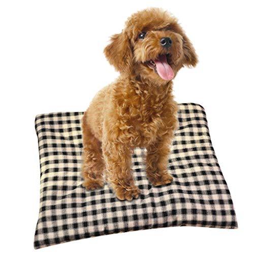 Alalaso Pet Mat Blanket, Pet Dog Cat Soft Warm Bed Puppy Cushion House Lattice Squarea
