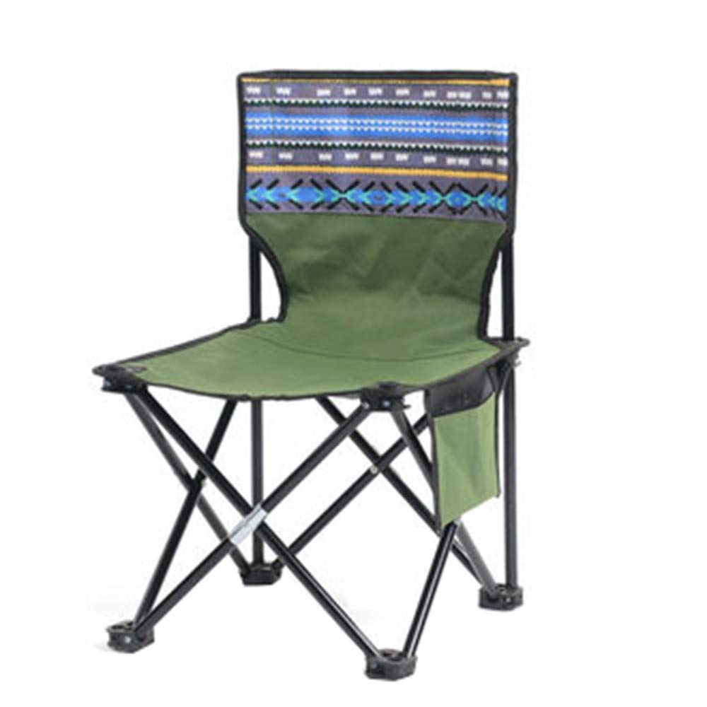 F Outdoor Folding Chair, Portable Camping Beach Fishing Chair, Student Outdoor Sketch Folding Chair, Suitable for Beach Outdoor Camping, Etc. YZRCRK