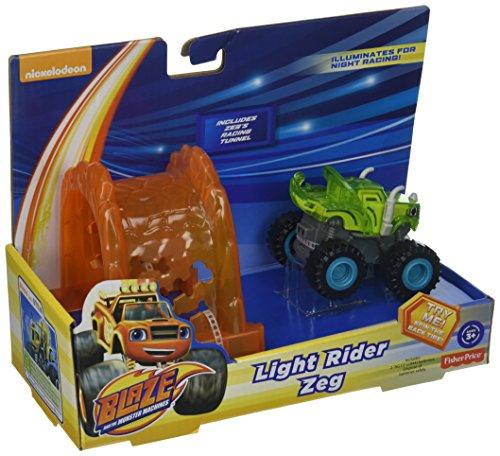 Fisher-Price Nickelodeon Blaze & The Monster Machines, Light Rider Zeg (Blaze And The Monster Machines Race Track)