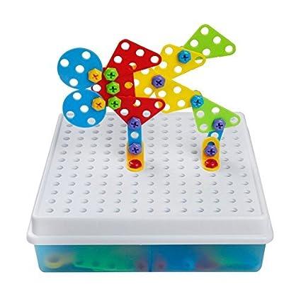 3d Diy Juguetes Bloques De Construccion Caja Colorida Y Portatil