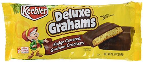Keebler Deluxe Graham, 12.5-Ounces Packages (Pack of 6)