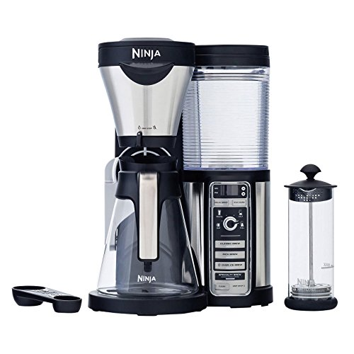 Ninja Coffee Bar Auto-iQ Brewer with Glass Carafe by Ninja
