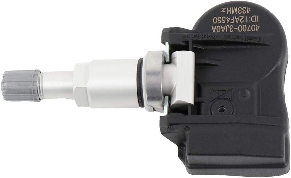 ECCPP Programmed TPMS Tire Pressure Monitoring System Sensor 433 MHz Fits for 2014 Infiniti QX60 2014 Altima 40700-3JA0A