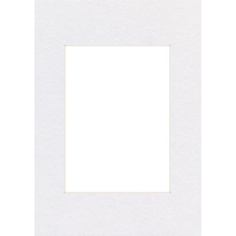 Hama Passepartout, Smooth White, 10 x 15 cm Bianco 00063205