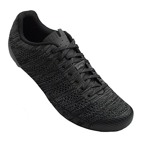 懐津波理想的GIRO(ジロ) EMPIRE E70 KNIT Road Cycling Shoes - Black/Charcoal Heather (39 EUR [25cm]) [並行輸入品]