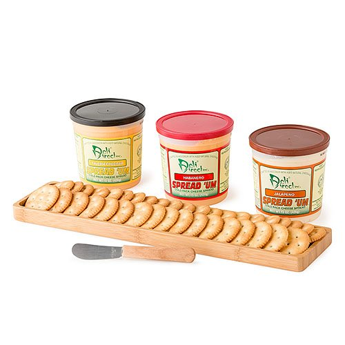 Wisconsin Variety Spicy Cheese Spreads (3 - 15oz Containers)