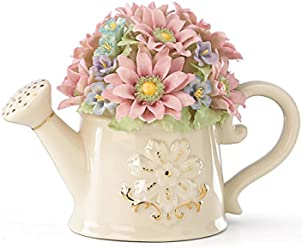 Lenox Floral Wishes Watering Can 5.25