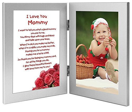 Mommy Gift, Sweet Poem From Son or Daughter for Birthday or Mother's Day, Add Photo -