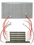 Set of 6 OEM Bulbs/Heating Elements + Filter for